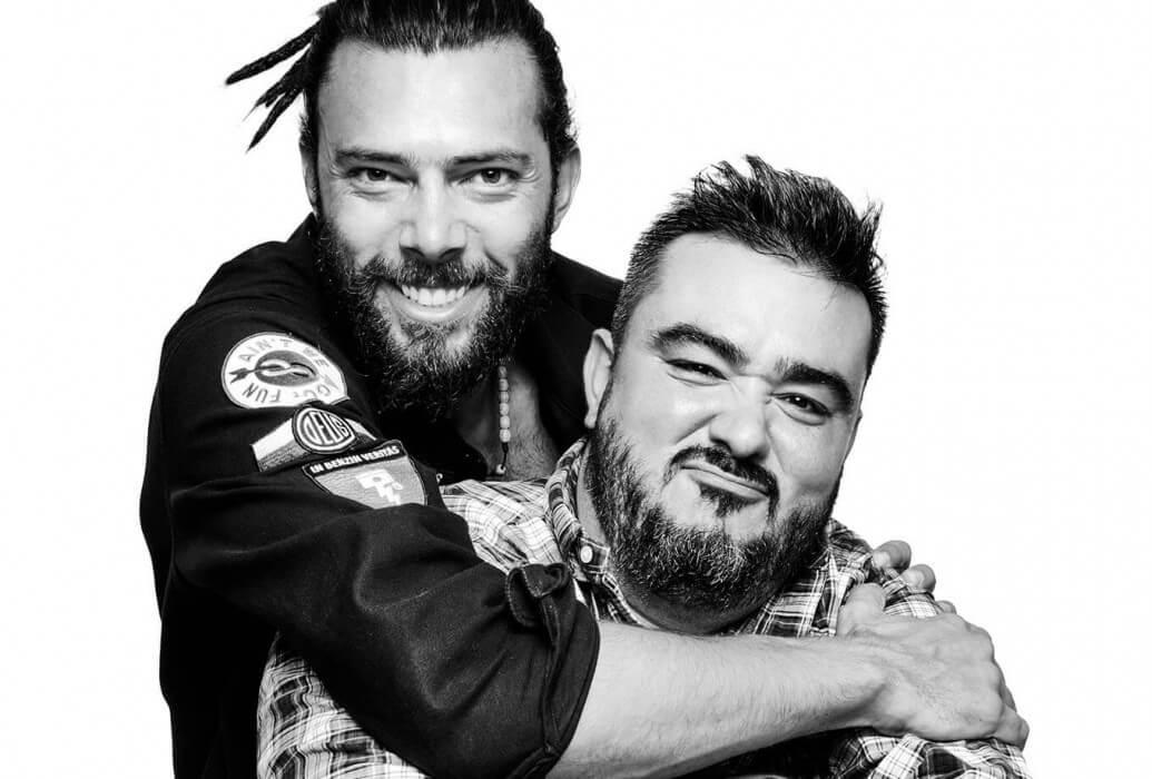 Manager y copropietario John Malek y head chef y copropietario César Galán Lydia's Smoke House Ibiza