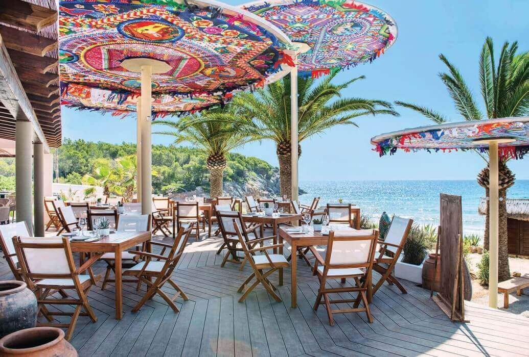 Terraza restaurante Aiyanna, Ibiza