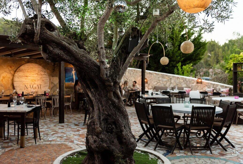 Terraza Nagai Restaurant. Ibiza