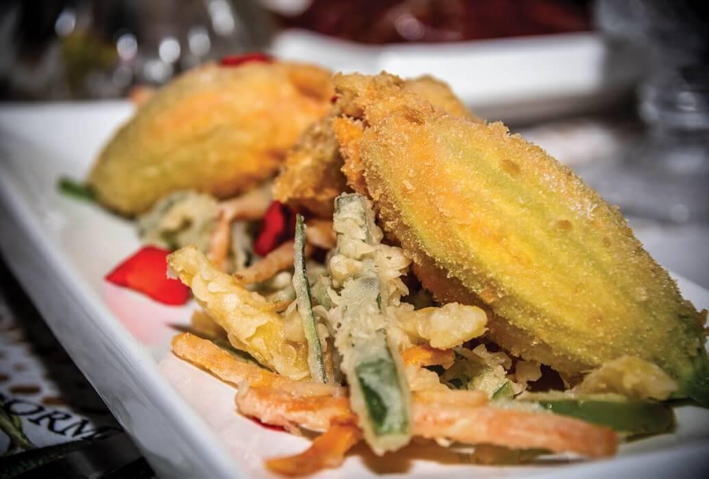 Verduras en tempura Restaurante A Mi Manera, Formentera