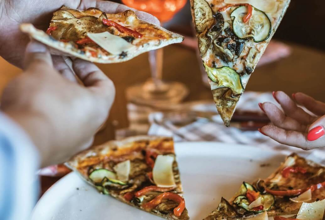 Pizza Ortolana. Restaurante Ribalta, Lisboa
