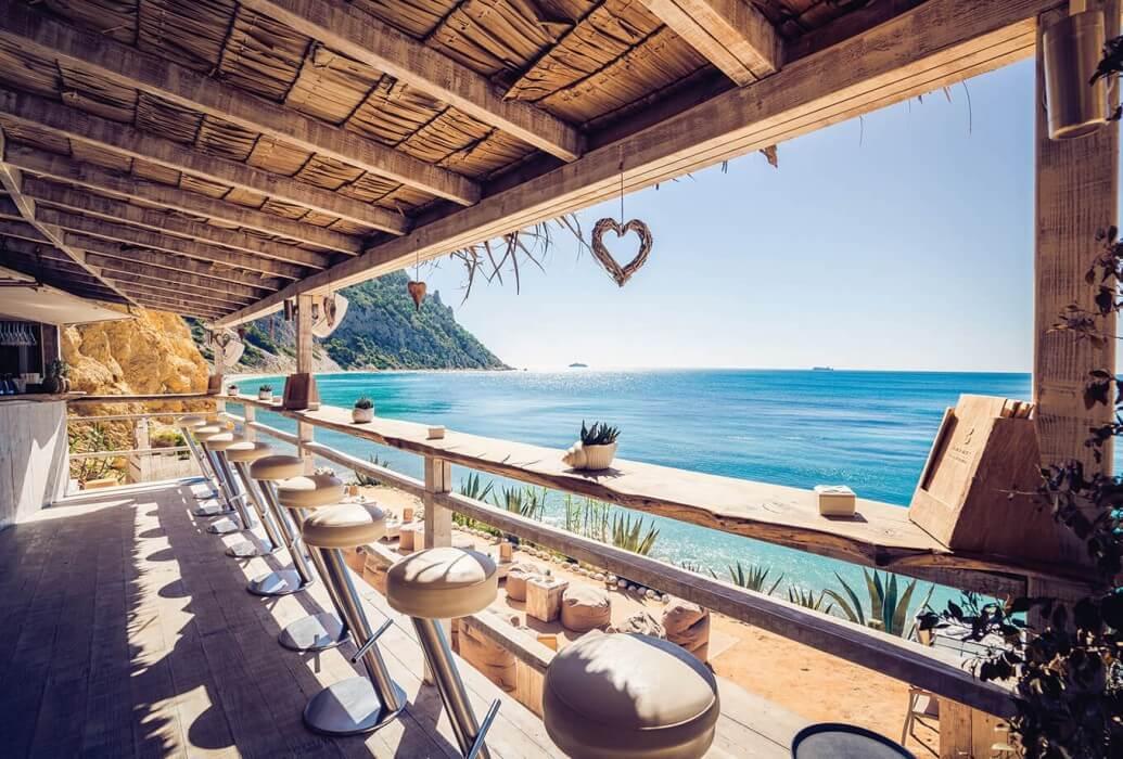 Vistas desde el restaurante Amante Ibiza
