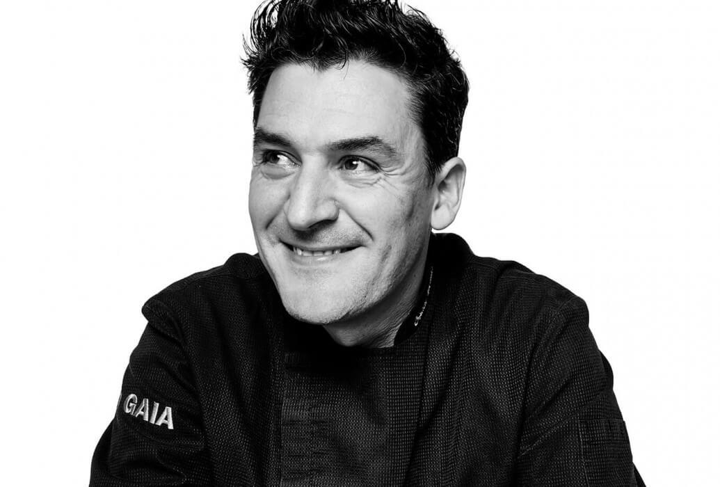 Executive chef Óscar Molina. Restaurante La Gaia
