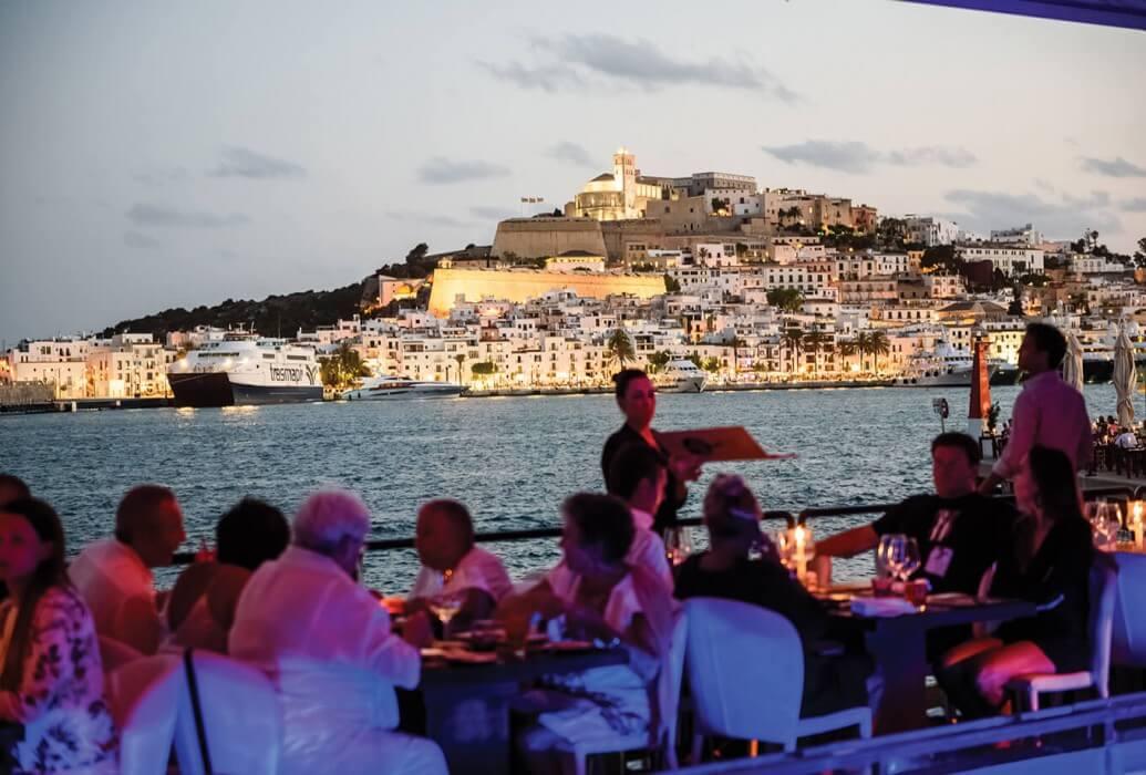 Vistas desde Lío Ibiza