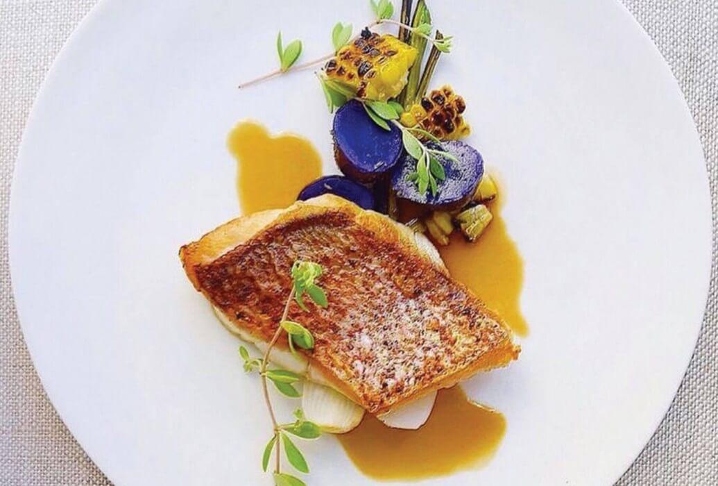 Lomo de pescado. Restaurante La'Era Ibiza