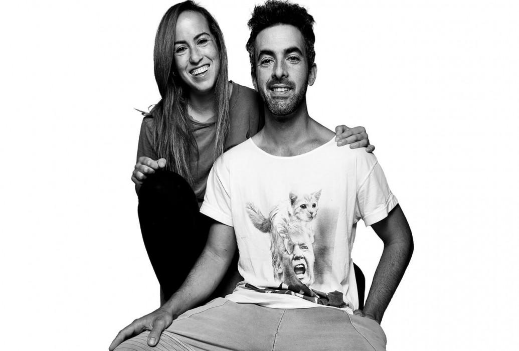 Maribel y Juan Carlos, managers del restaurante Tropicana Beach, Ibiza