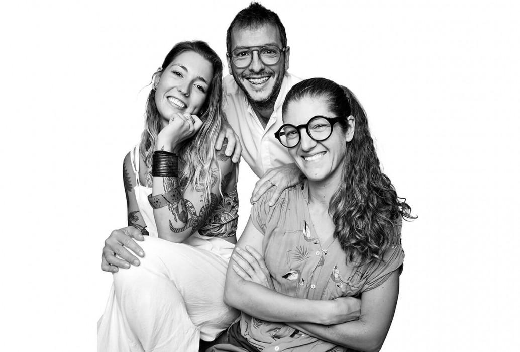 Naiara Herráez, Ana Jiménez García y José Miguel García. Quimera Restaurant
