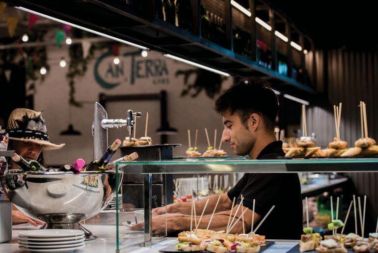 Pintxos en Can Terra Ibiza