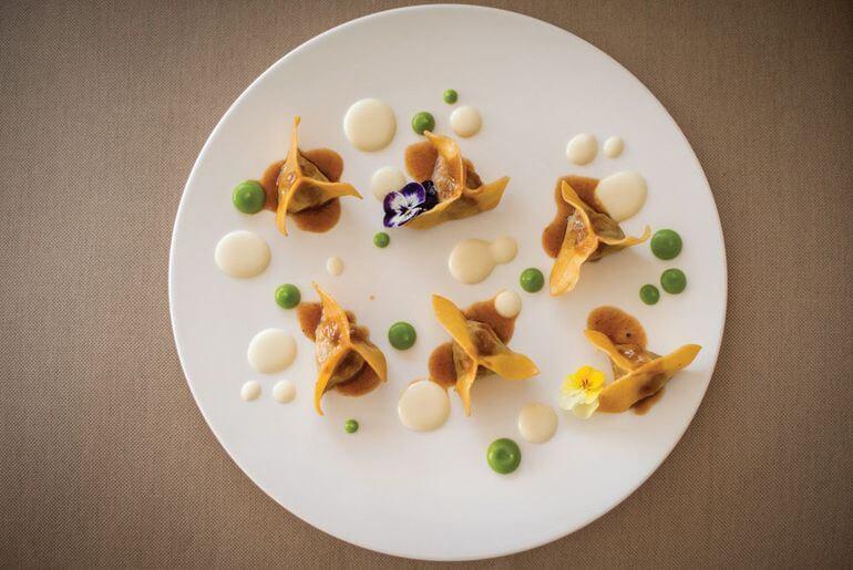 Plato en restaurante It Ibiza