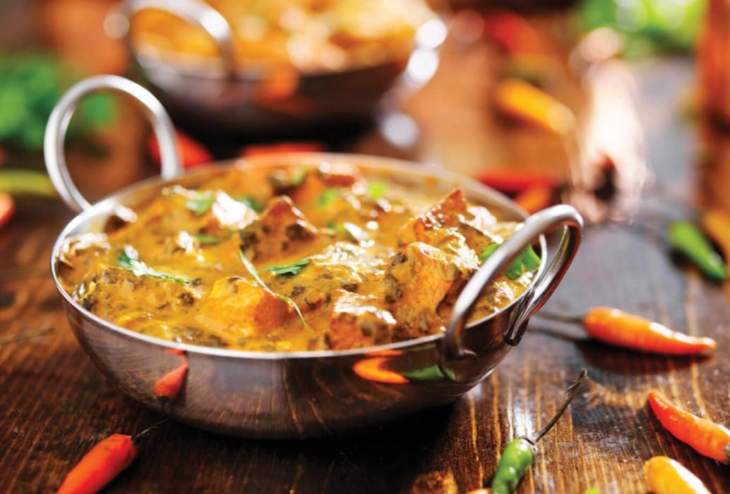 Pollo al curry. The Curry Club Ibiza
