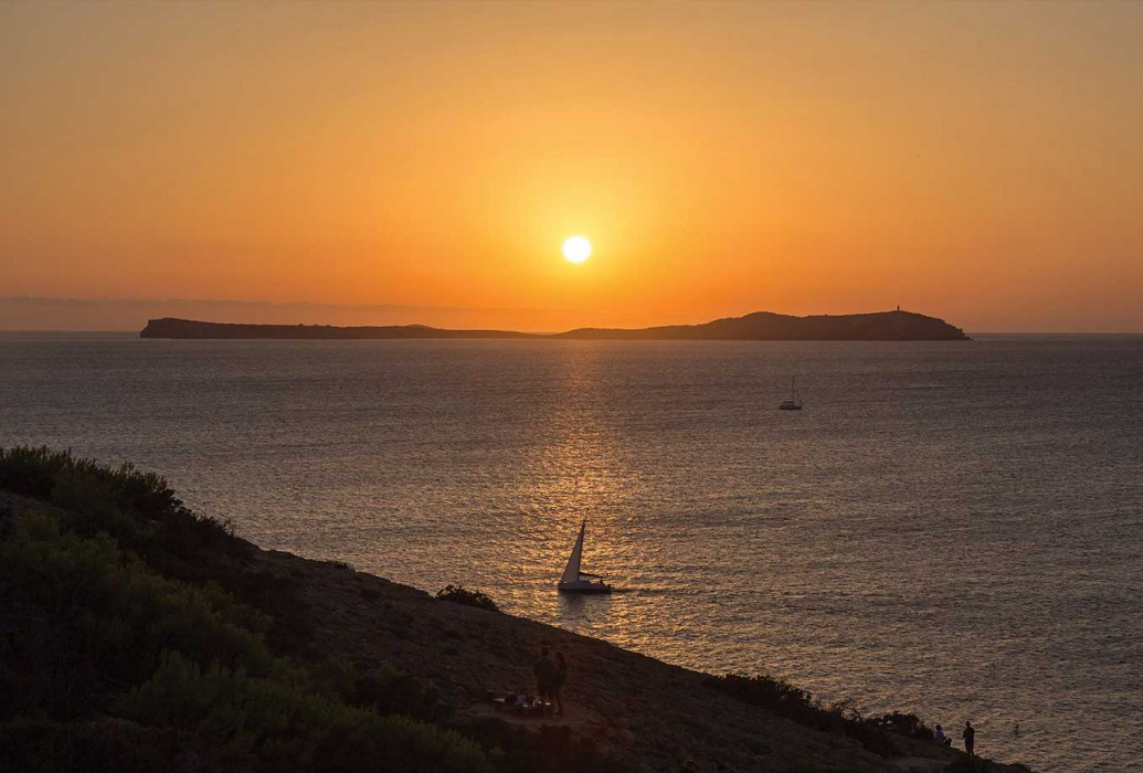 Puesta de sol Hostal La Torre, Ibiza