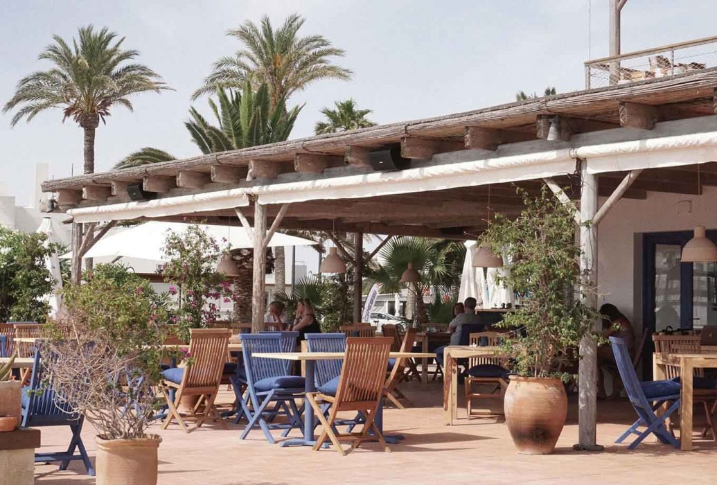 Restaurante Aigua Aire, Formentera