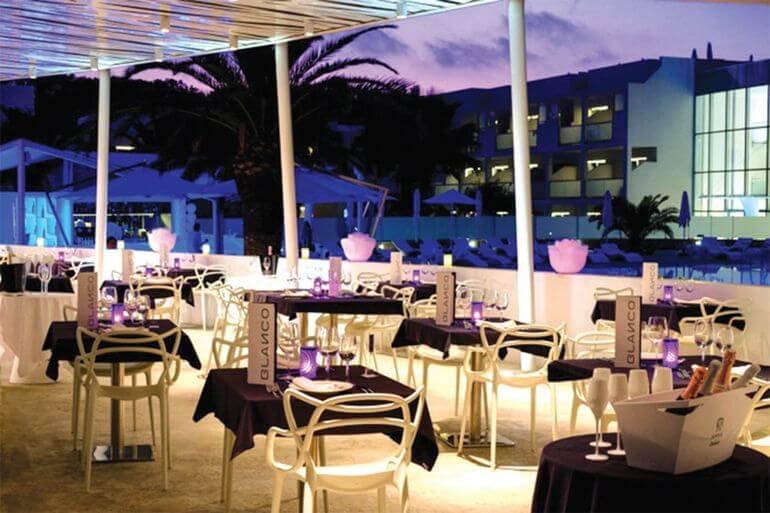 Carmen Restaurant by Blanco. Formentera