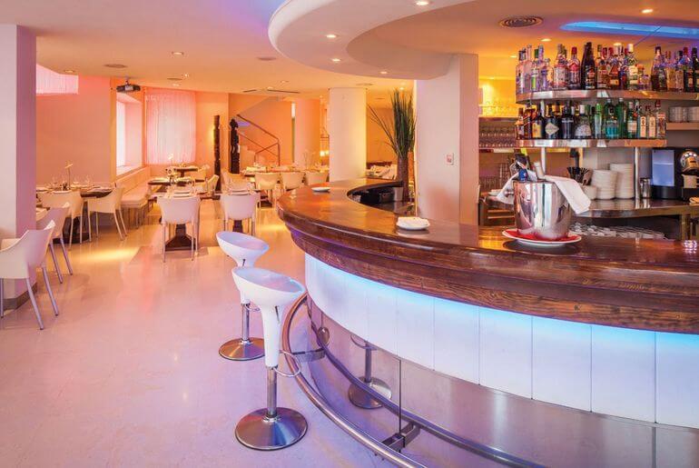 Restaurante El Hotel Pacha. Ibiza