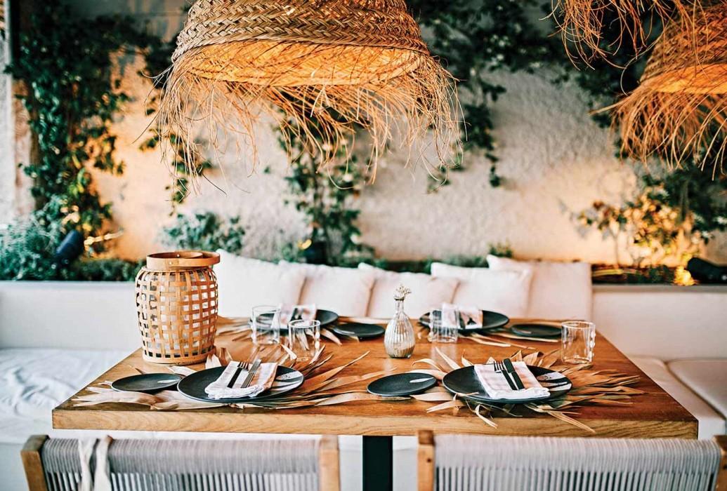 Comedor restaurante Pecador Ibiza