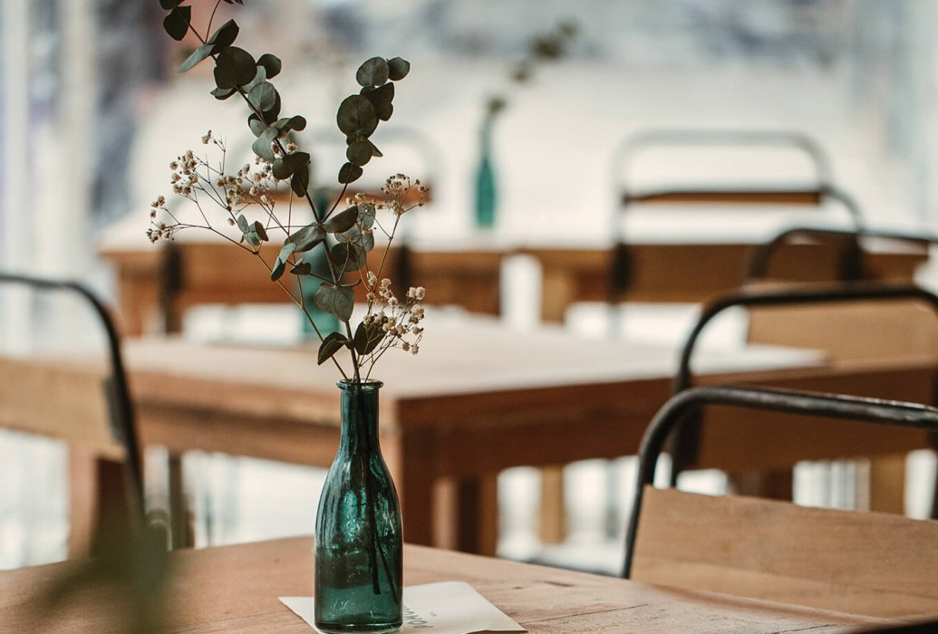 Restaurante Pomona. Ibiza