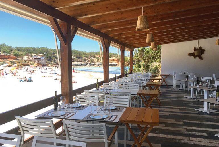 Restaurant Sol, Formentera.