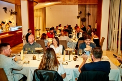 Invitados a la degustación del menú de Sandoval y Molina