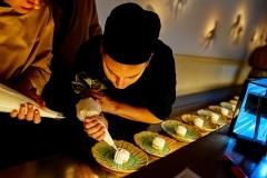 Souffle de yuzu y vainilla