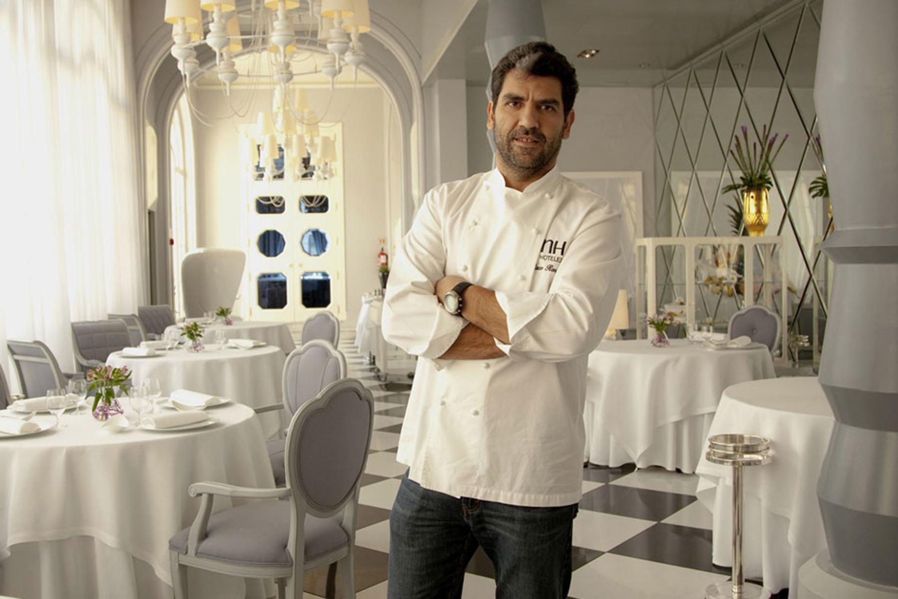 Paco Roncero, chef ejecutivo Restaurante de La Terraza del Casino