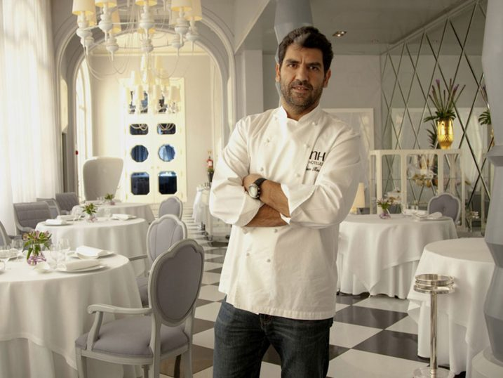 Paco Roncero executive chef