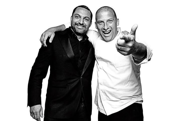Antonio y Massimo son el alma del restaurante It Ibiza