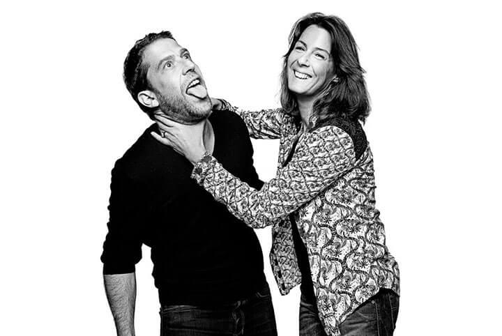 Arnaud y Sabine, propietarios de La Belle Ibiza