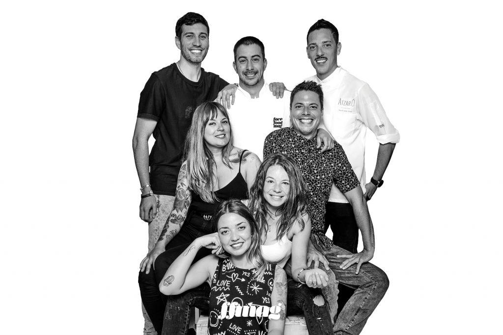 Restaurant Atzaró Beach team. Ibiza