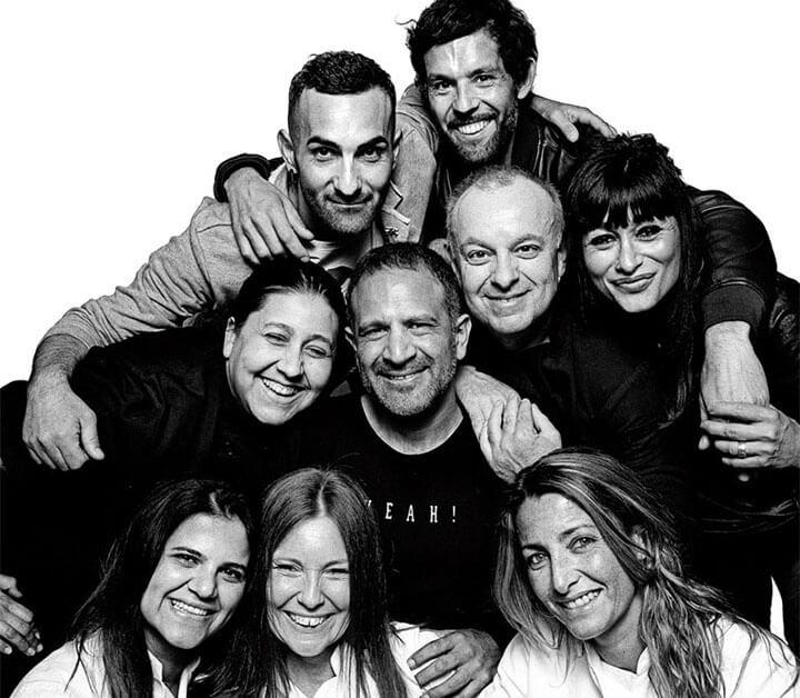 They are the Aubergine Ibiza team.