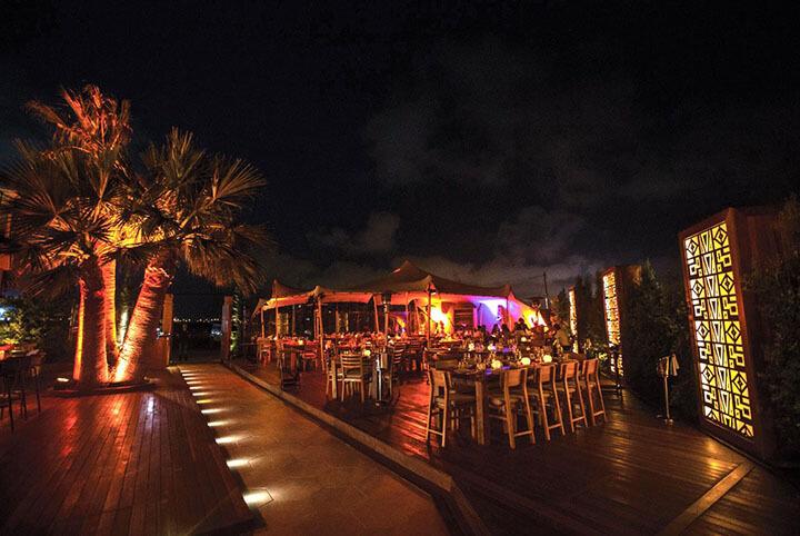 Coricancha restaurant terrace. Ibiza
