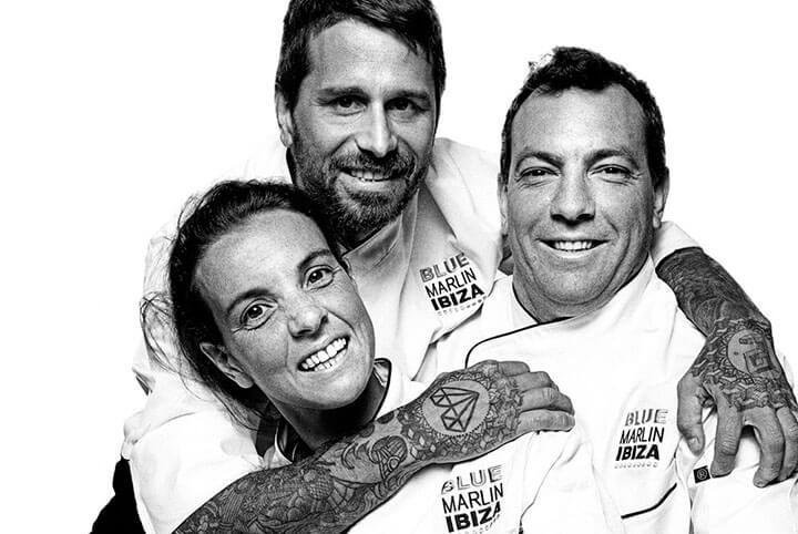 Ellos son los chefs de Blue Marlin Ibiza