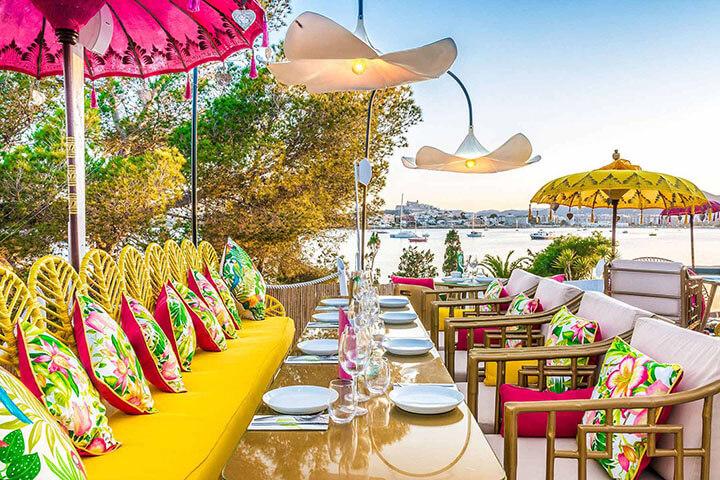 Ginger restaurant. Sa Punta, Ibiza