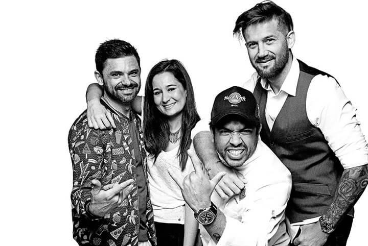 They are the heart of Hard Rock Café Ibiza