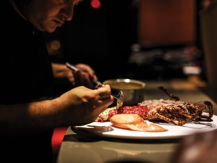 Langosta. Restaurante Heart Ibiza