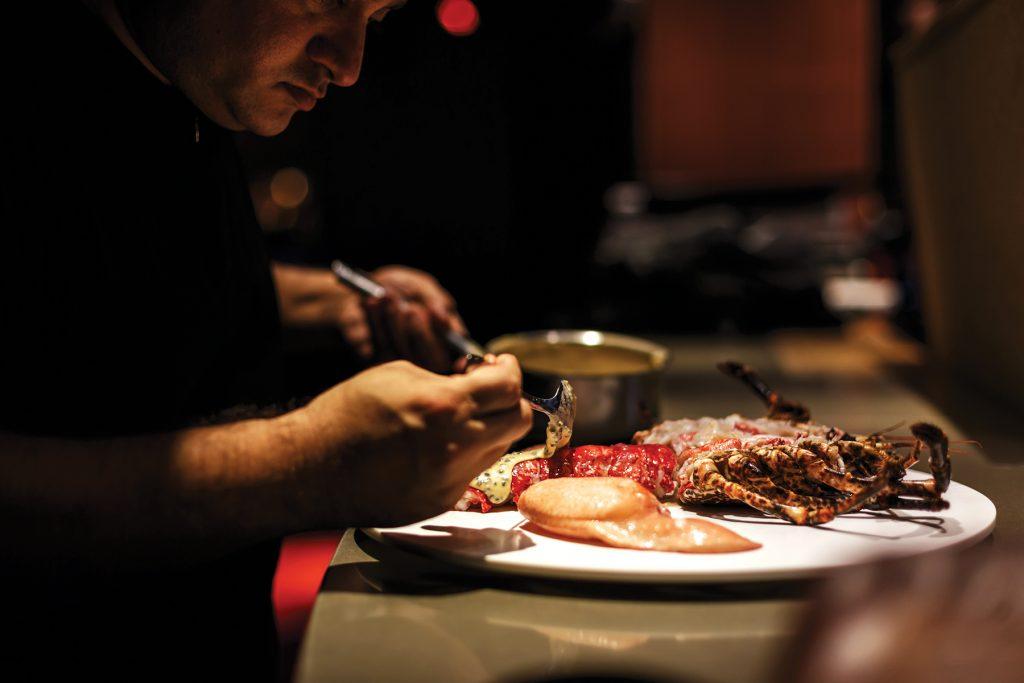 Lobster. Restaurant Heart Ibiza