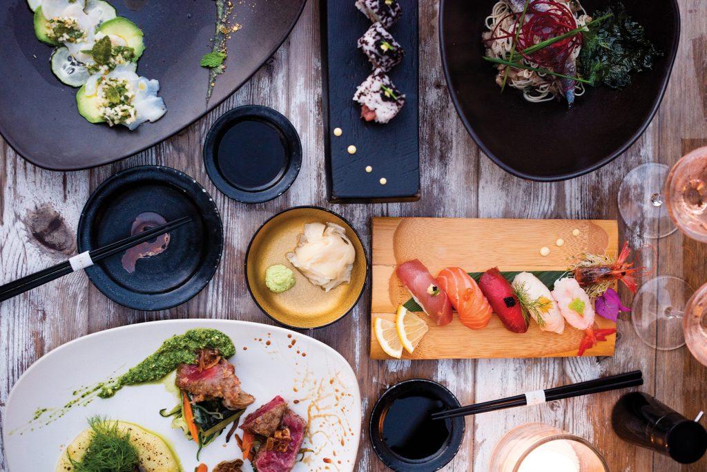 Asian cuisine. Restaurant Nagai, Ibiza