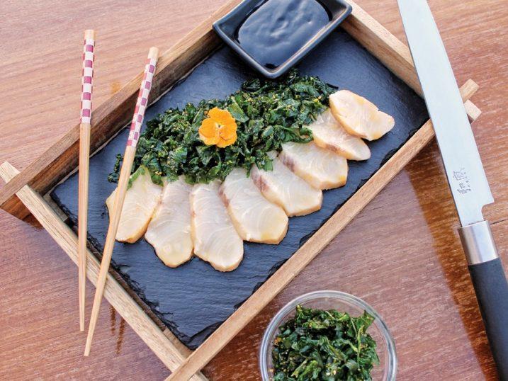 Kyuppido sashimi dish. Ibiza