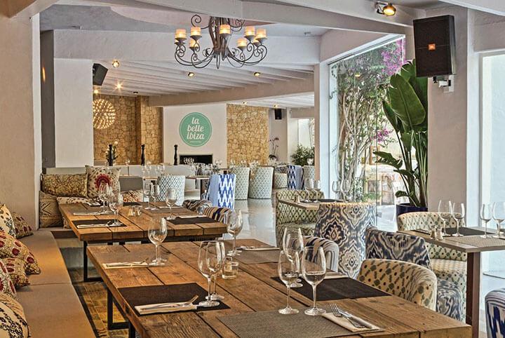 La Belle Ibiza restaurant