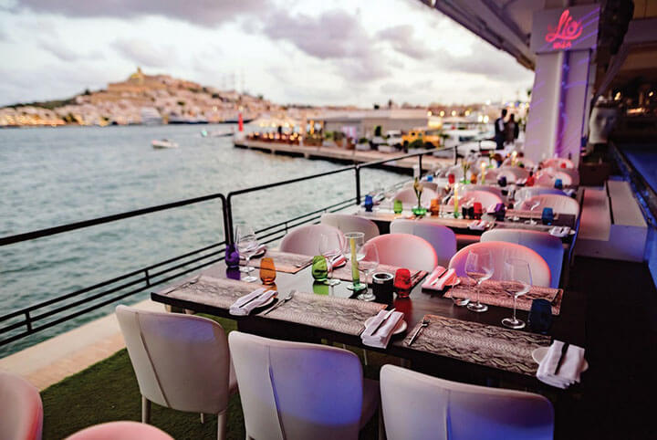 Lío. Club Restaurant Cabaret. Sea view. Ibiza