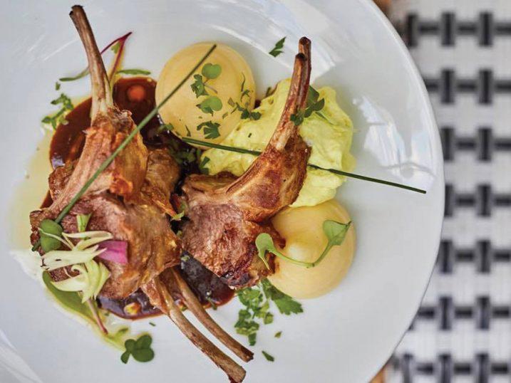 Lamb chops. Maison Le Vrai, Ibiza