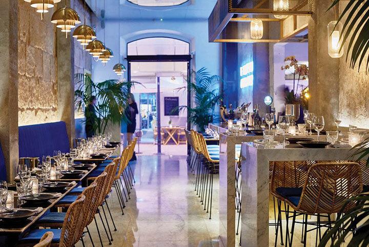Maison Le Vrai restaurant in Ibiza