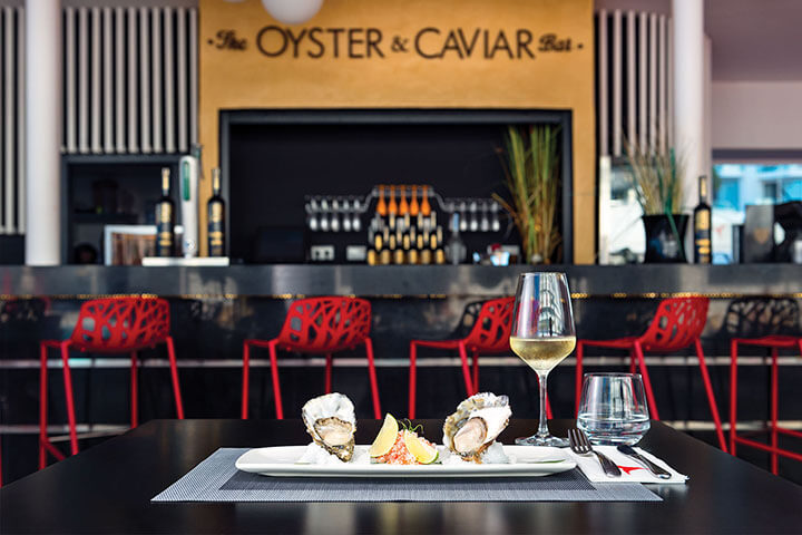 The Oyster & Caviar Bar. Ibiza