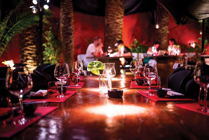 Pacha Restaurant. Ibiza