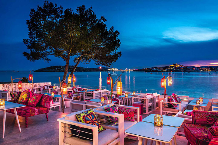 Patchwork Restaurant. Sa Punta, Ibiza