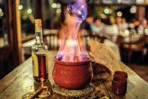 Ibizan queimada Sa Caleta in Ibiza