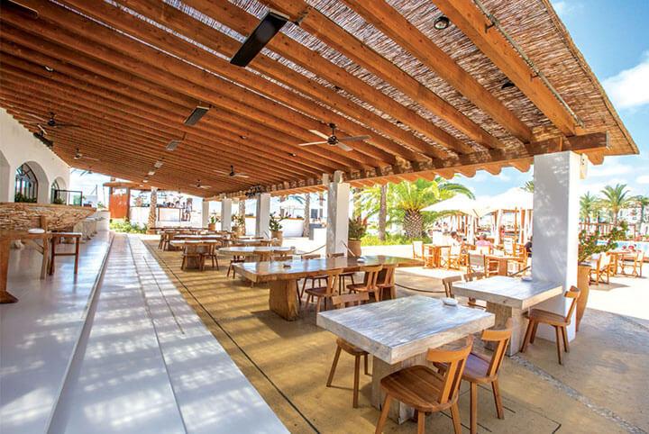 Restaurant Hotel Destino Pacha Resort. Ibiza