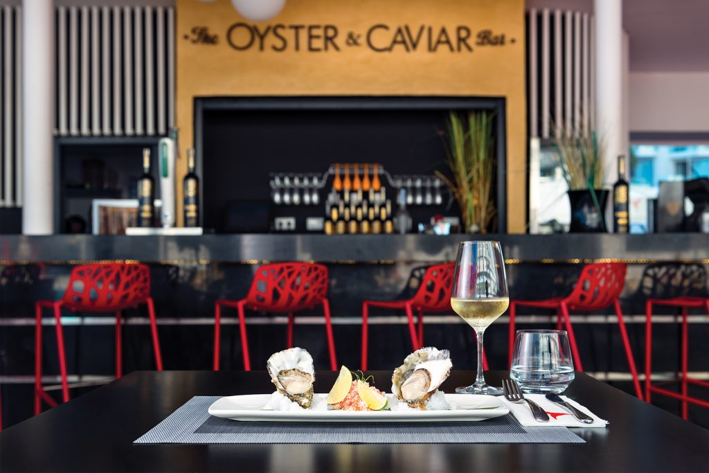 The Oyster & Caviar Bar