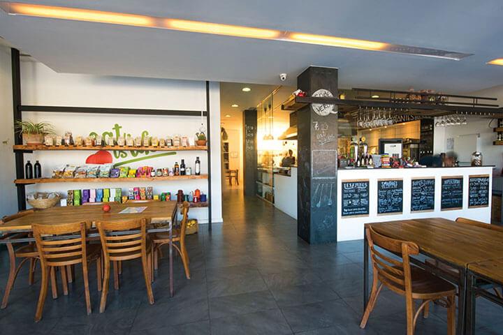 Restaurante Eat is Life. Ibiza