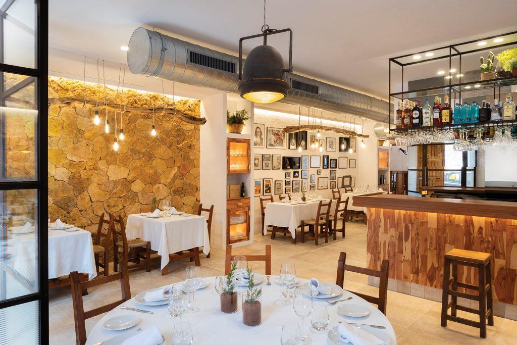 Restaurante Es Ventall. Ibiza