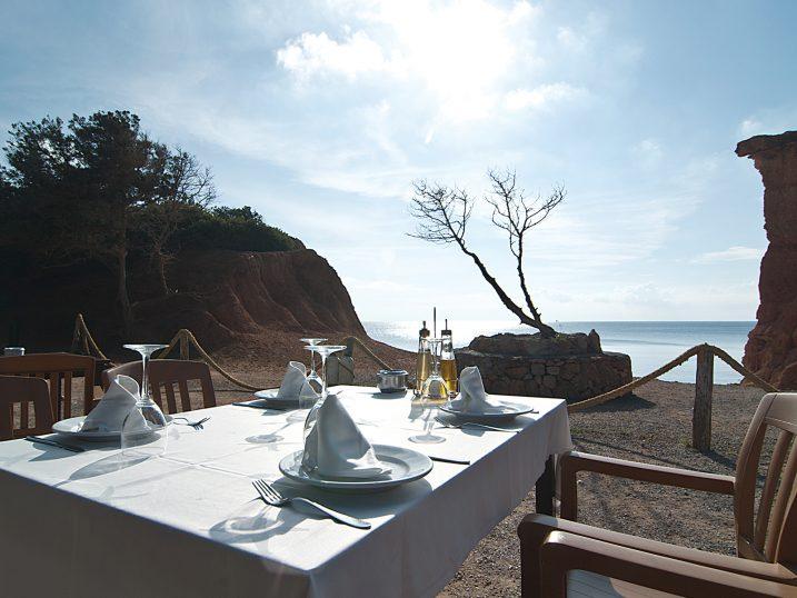 Restaurante Sa Caleta. Ibiza